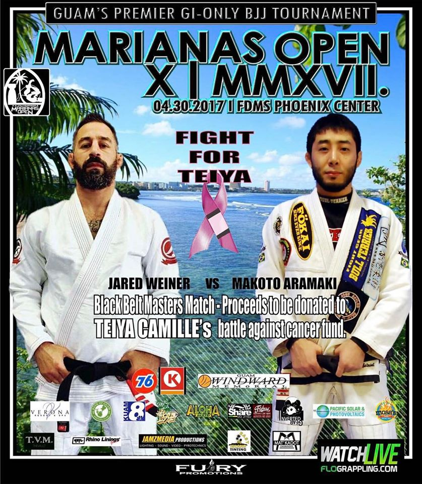 Marianas Open 2017 Prof.Jared and Makoto