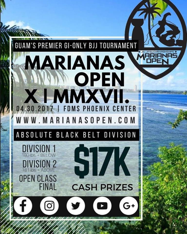 Marianas Open 2017 poster
