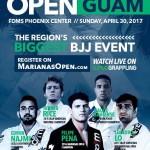 Marianas open black belts