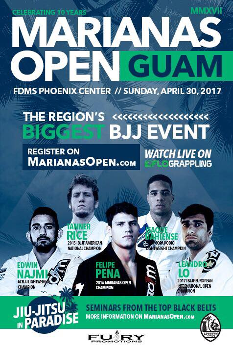 Marianas open black belts